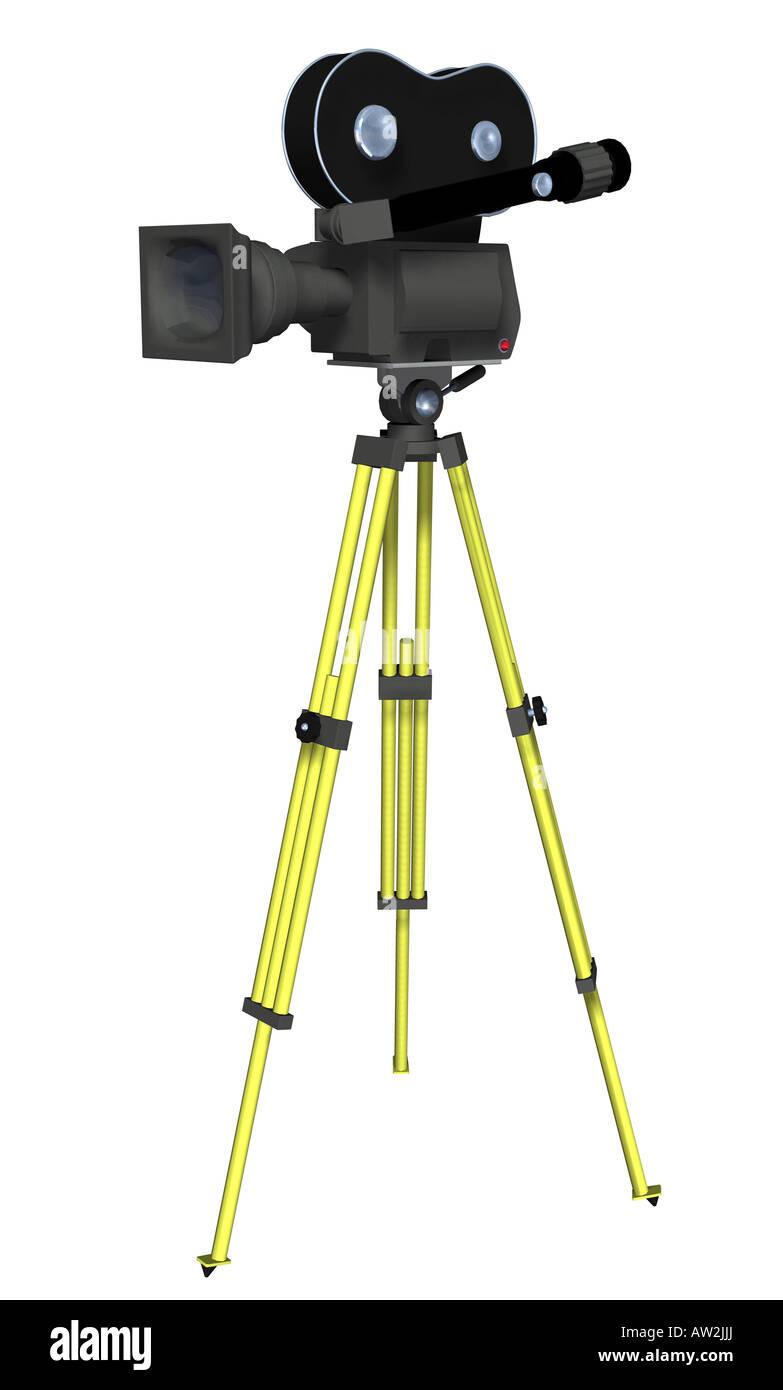 cine camera - Stock Image