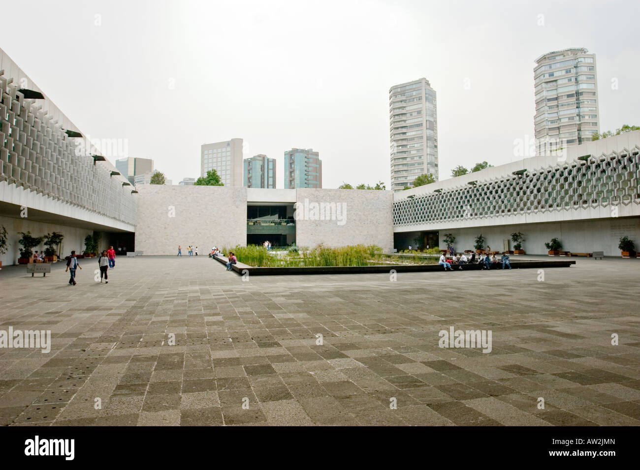 National Museum of Anthropology, Mexico City, Mexico - Stock Image