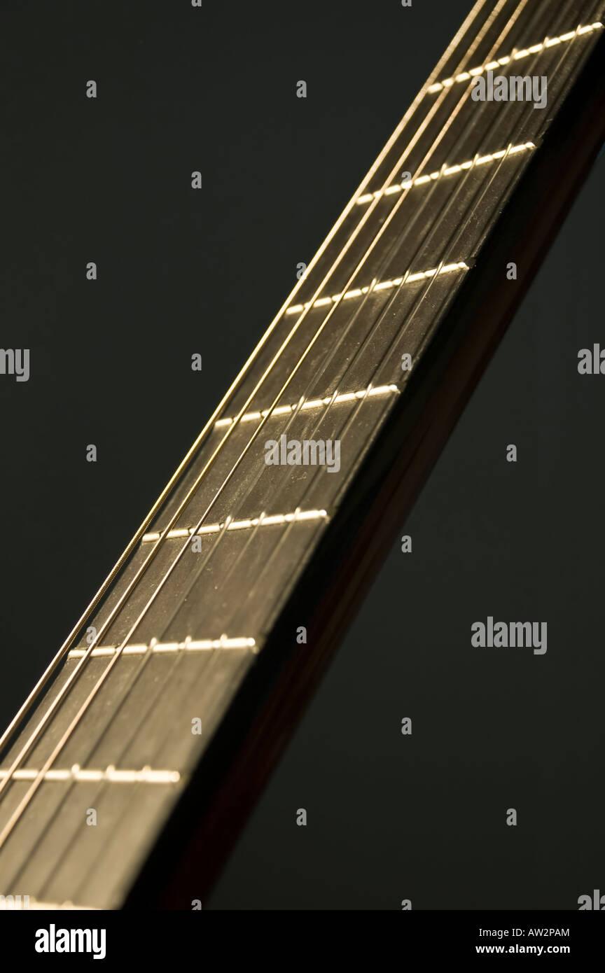 Guitar strings - Stock Image