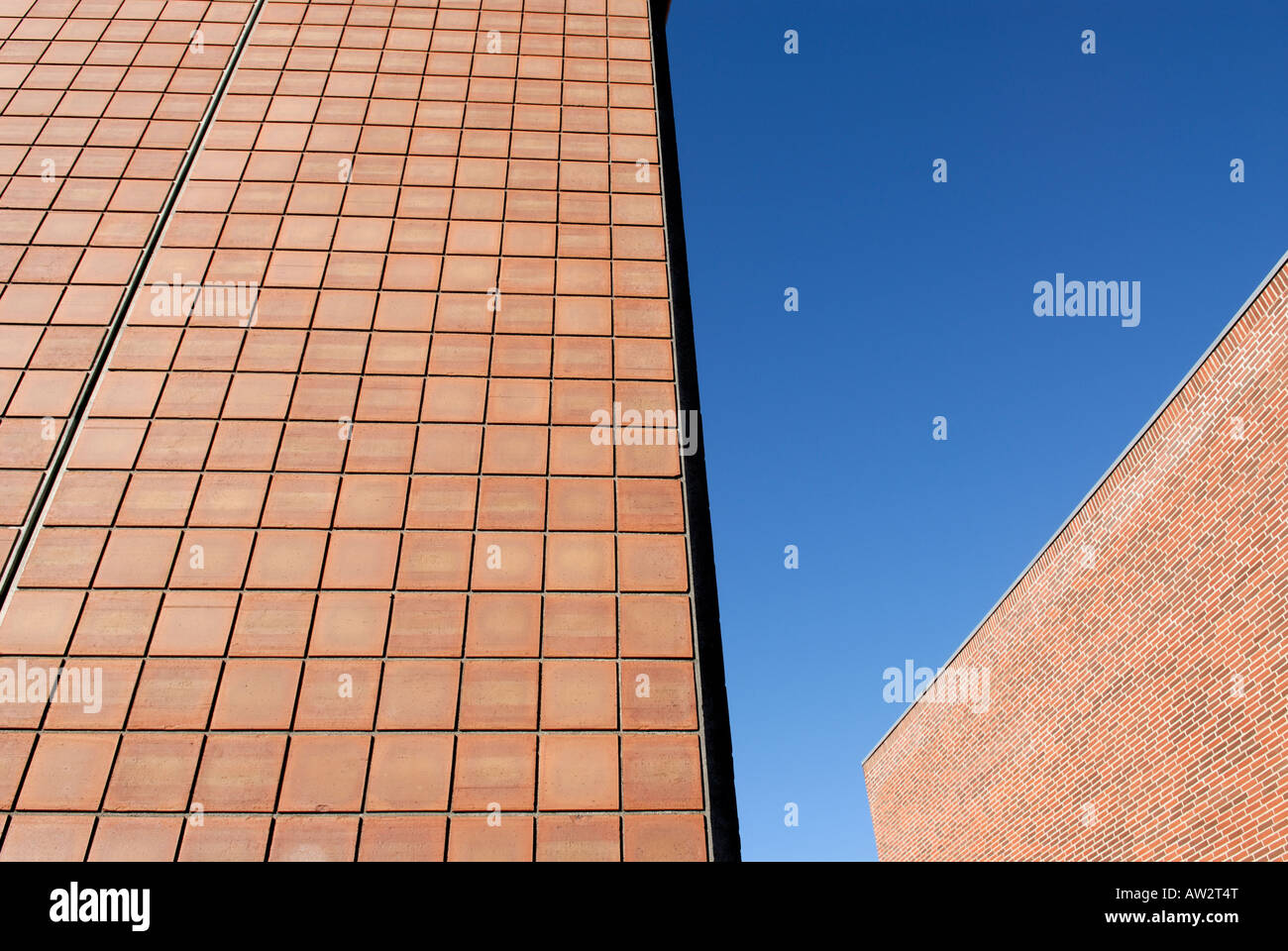 RED WALLS - Stock Image