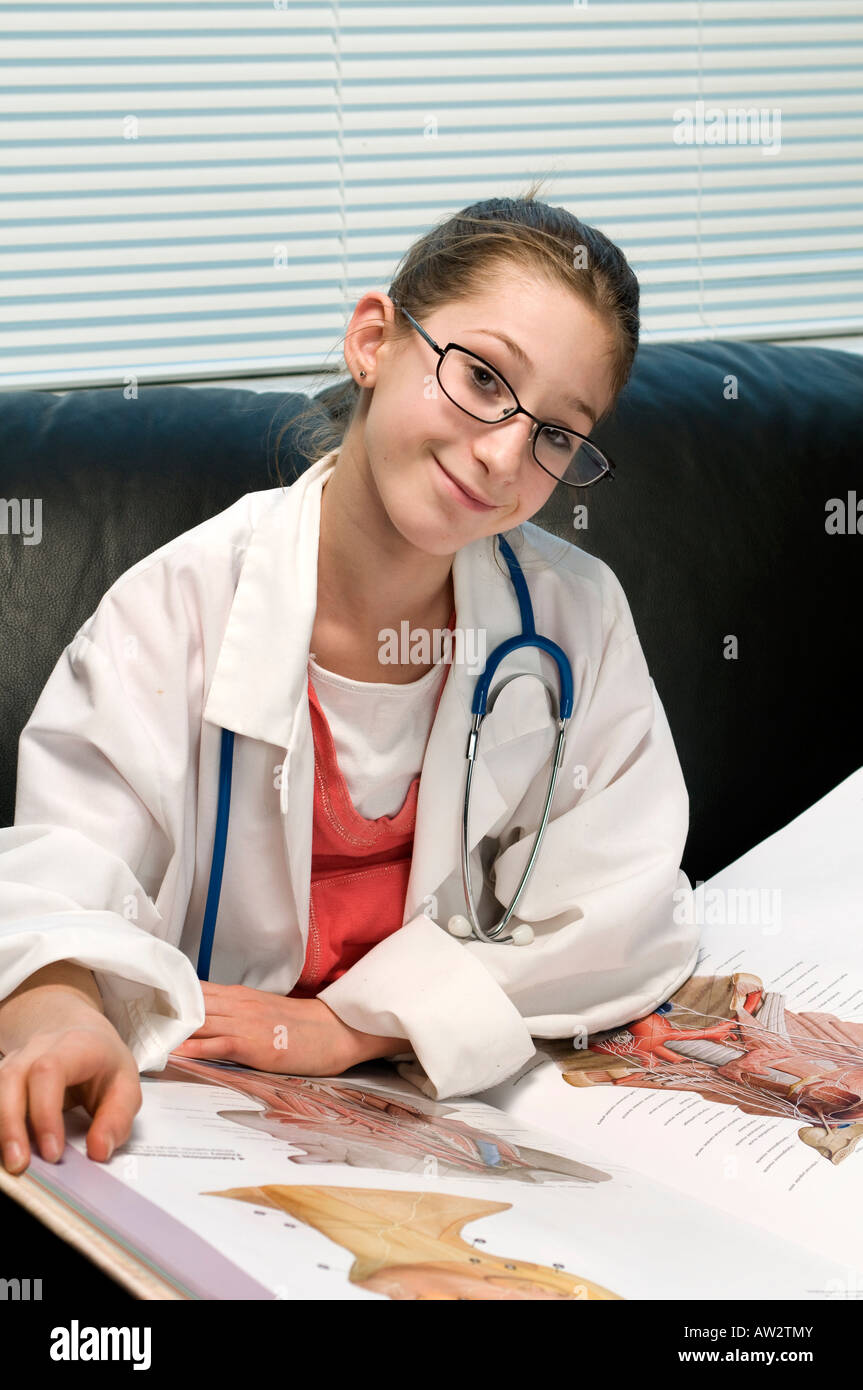 Teen playing doctor