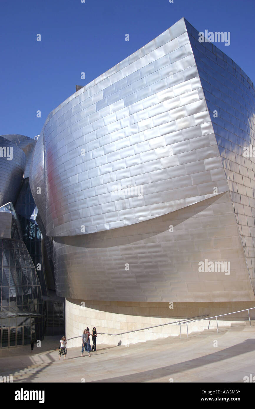 Guggenheim Museo.Guggenheim Museo In Bilbao Stock Photo 16455086 Alamy