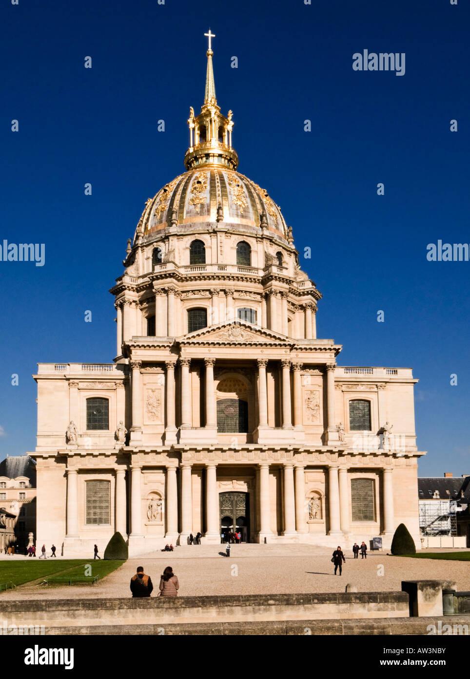 Les Invalides, Paris, France, Europe - Stock Image