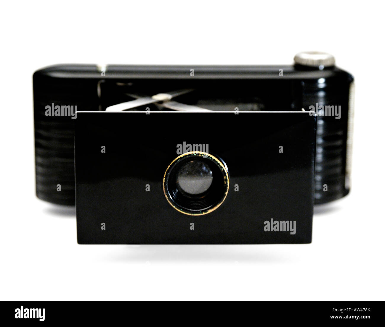 Bakelite camera 1930s - Stock Image