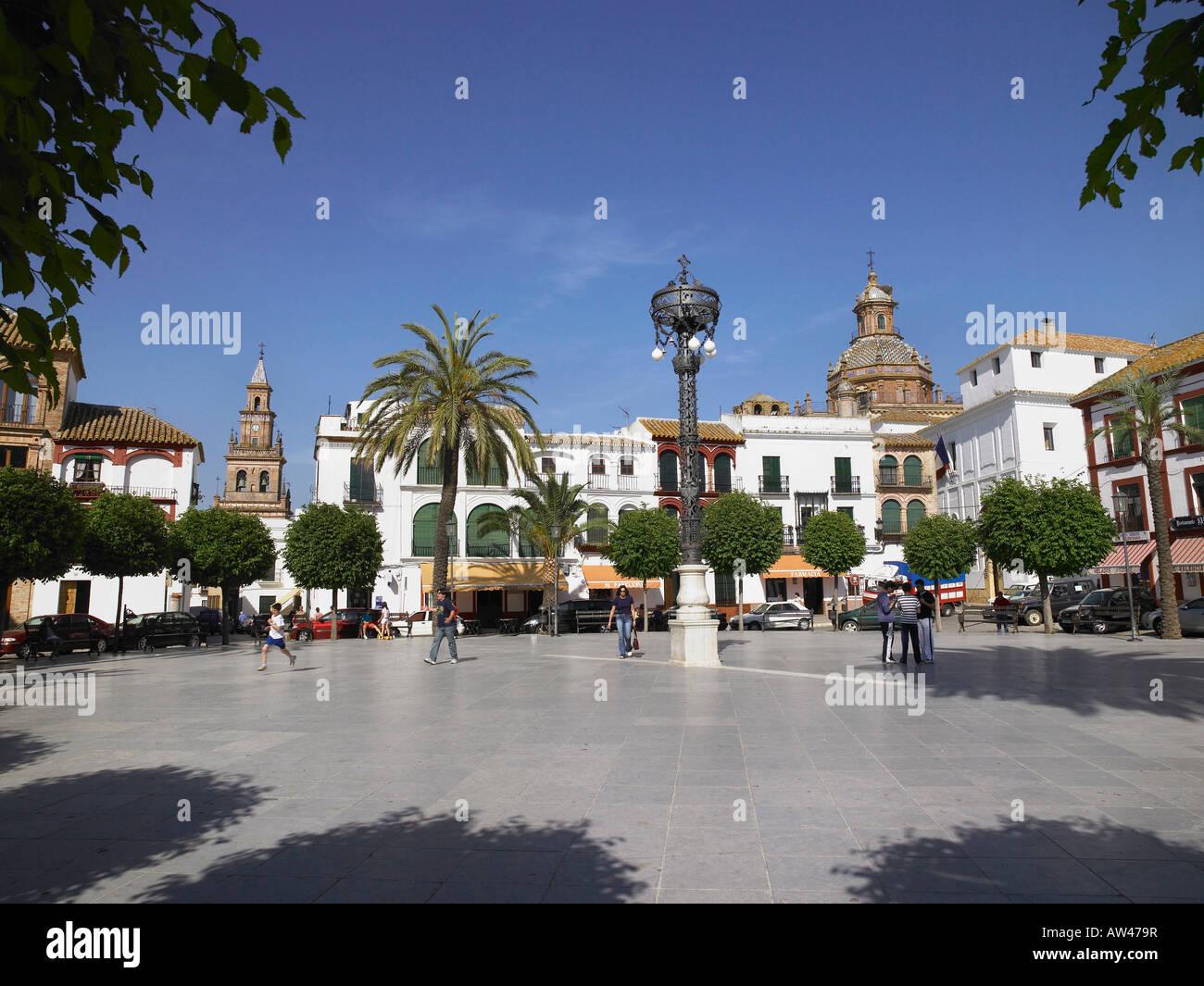 Plaza. - Stock Image