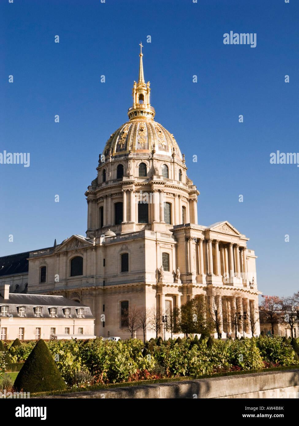 Les Invalides, Paris Stock Photo