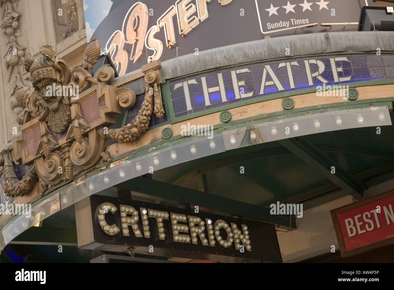 Criterion Theatre in London - Stock Image