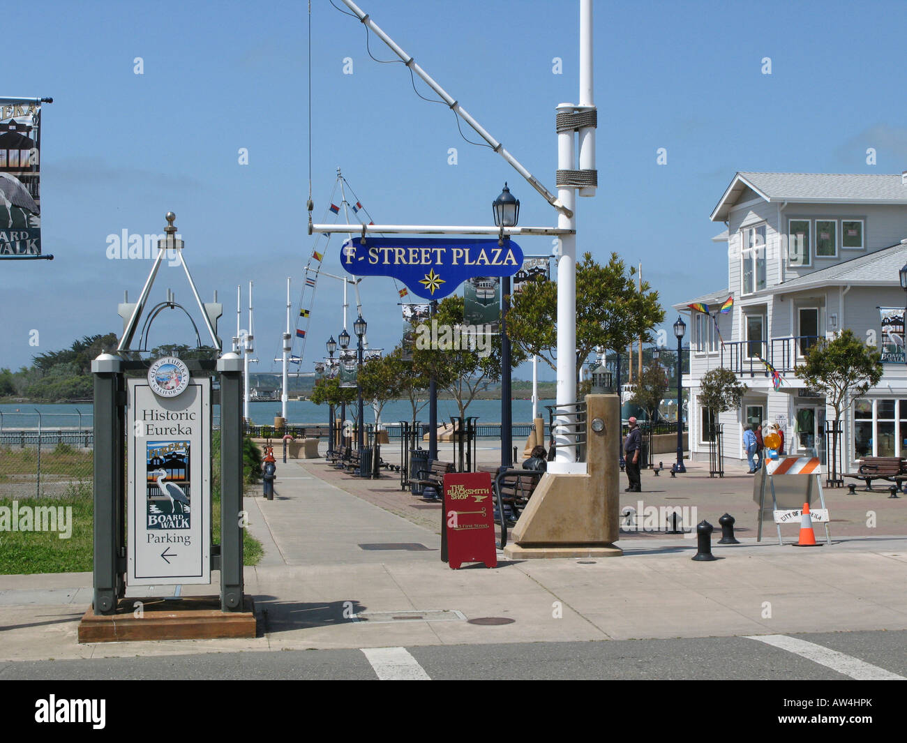 Eureka, California, USA - Stock Image