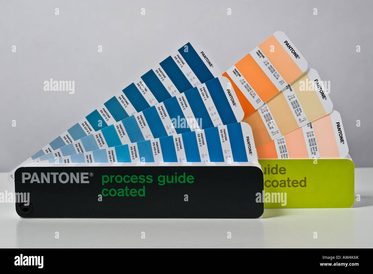 Pantone Color Samples Isolated On Stock Photos & Pantone Color ...