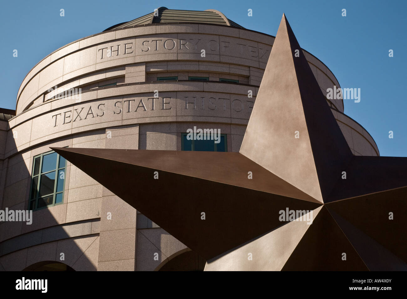 Story of Texas Museum, Austin Stock Photo