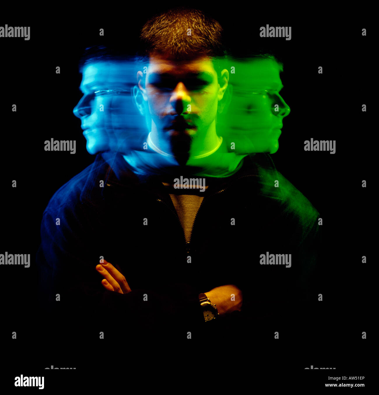 Unable to focus - Stock Image