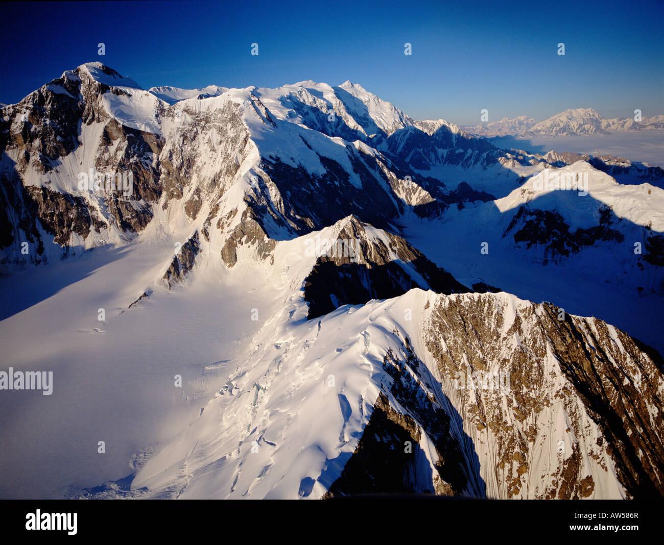 Mt. Logan, Yukon Territory - Stock Image