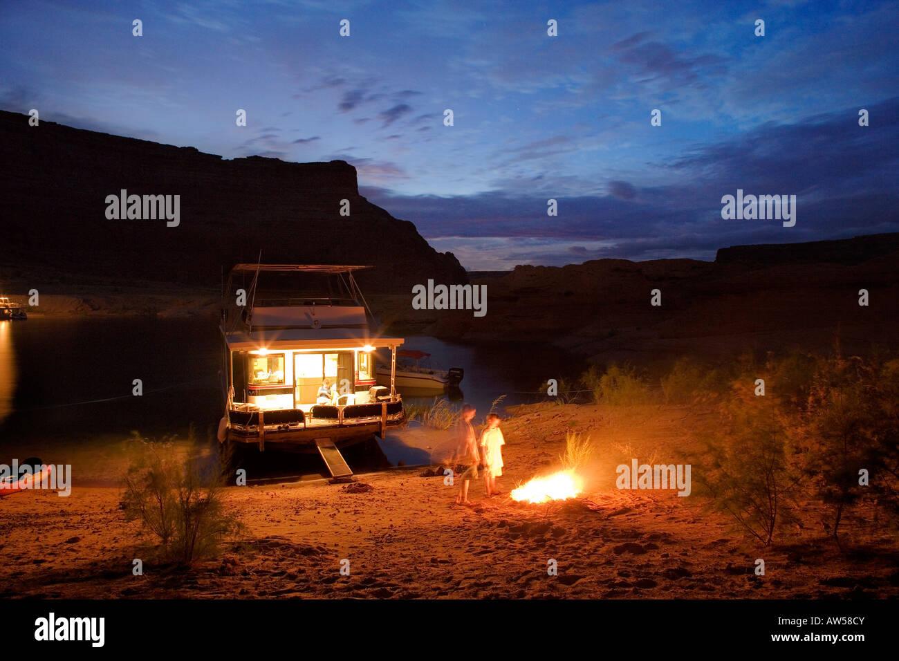 Glen Canyon NRA - Stock Image