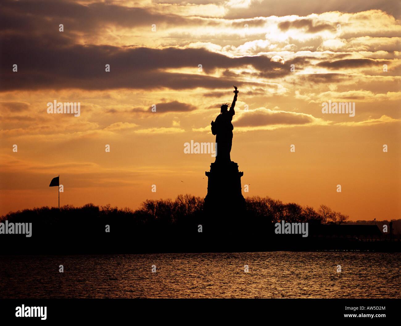 Ellis Island Statue of Liberty N P - Stock Image