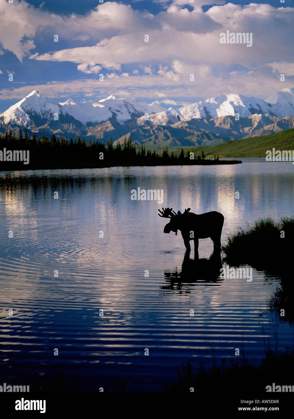 Wonder Lake - Stock Image