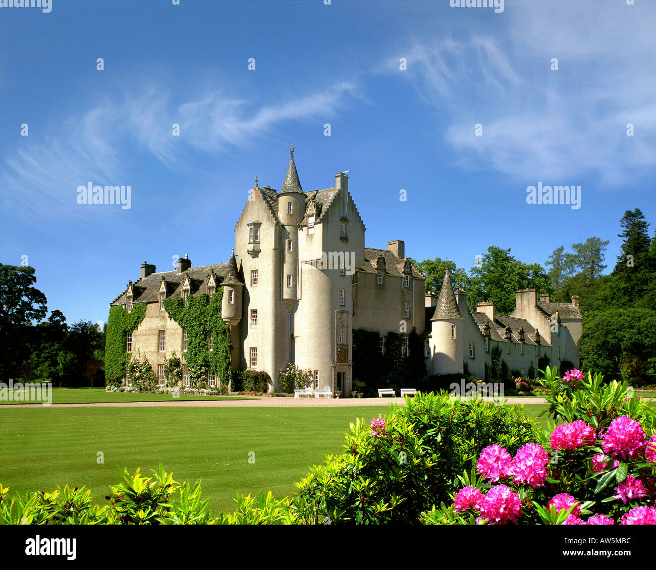GB - SCOTLAND:  Ballindalloch Castle - Stock Image