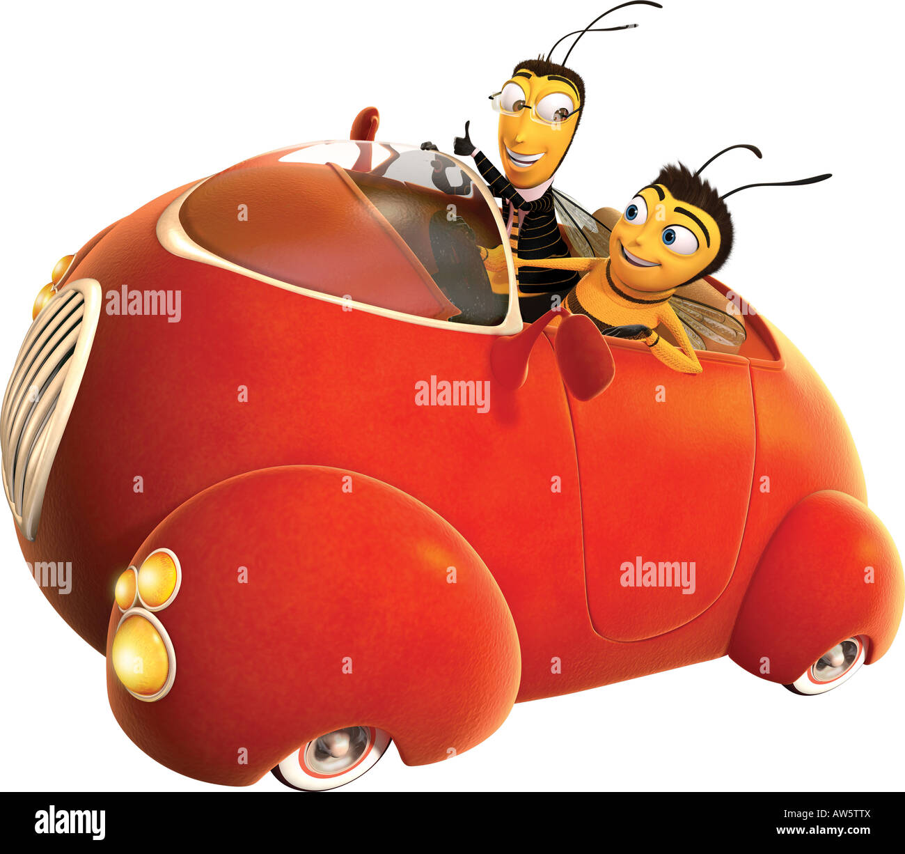 BEE MOVIE 2007 Dreamworks Animation SKG Film Voiced By Jerry Seinfeld And Renee Zellweger