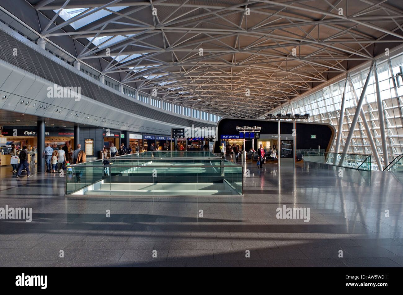 Airside Center - Stock Image