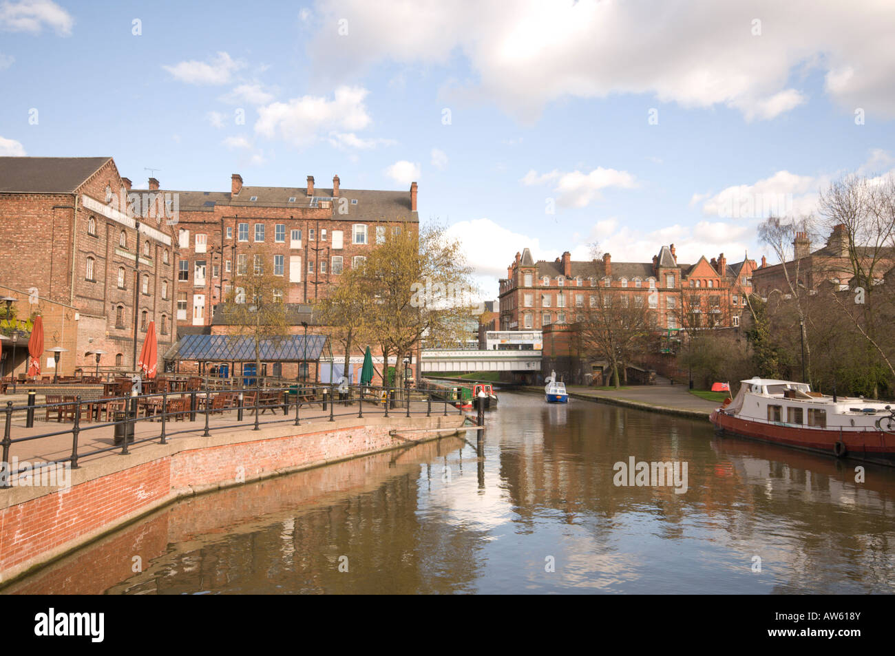 Castle wharf, Nottingham - Stock Image