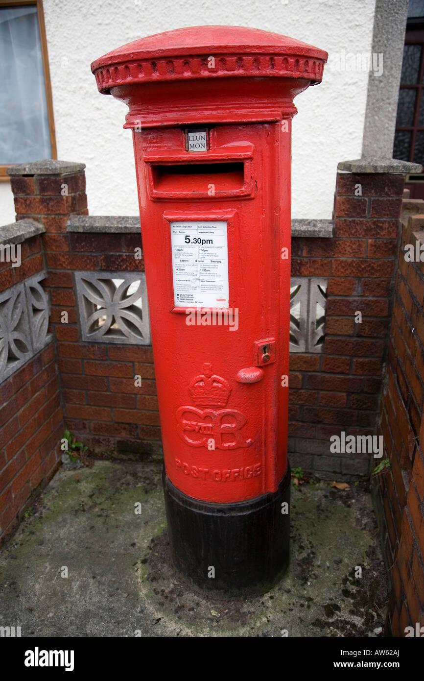 Rare Edward VIII Pillar Box Stock Photo