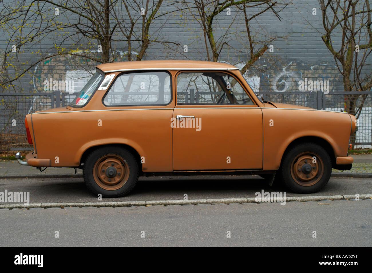 Eastern German Trabant - Stock Image