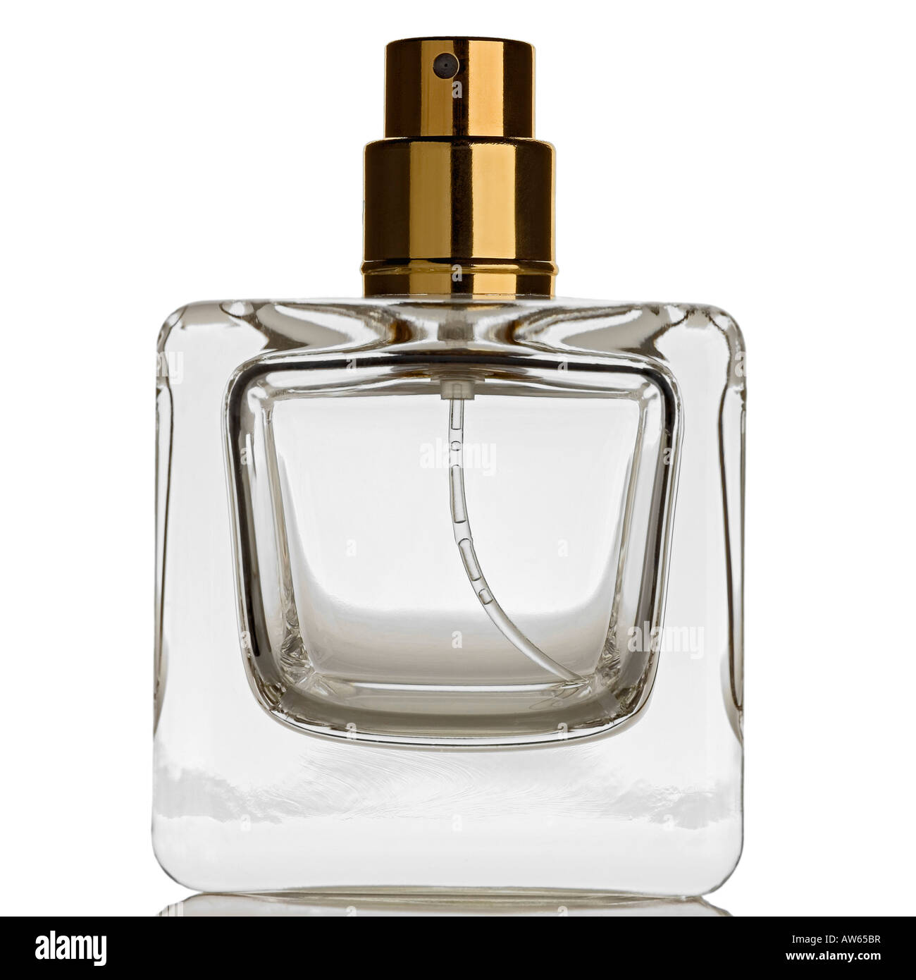 empty botle of perfume - Stock Image