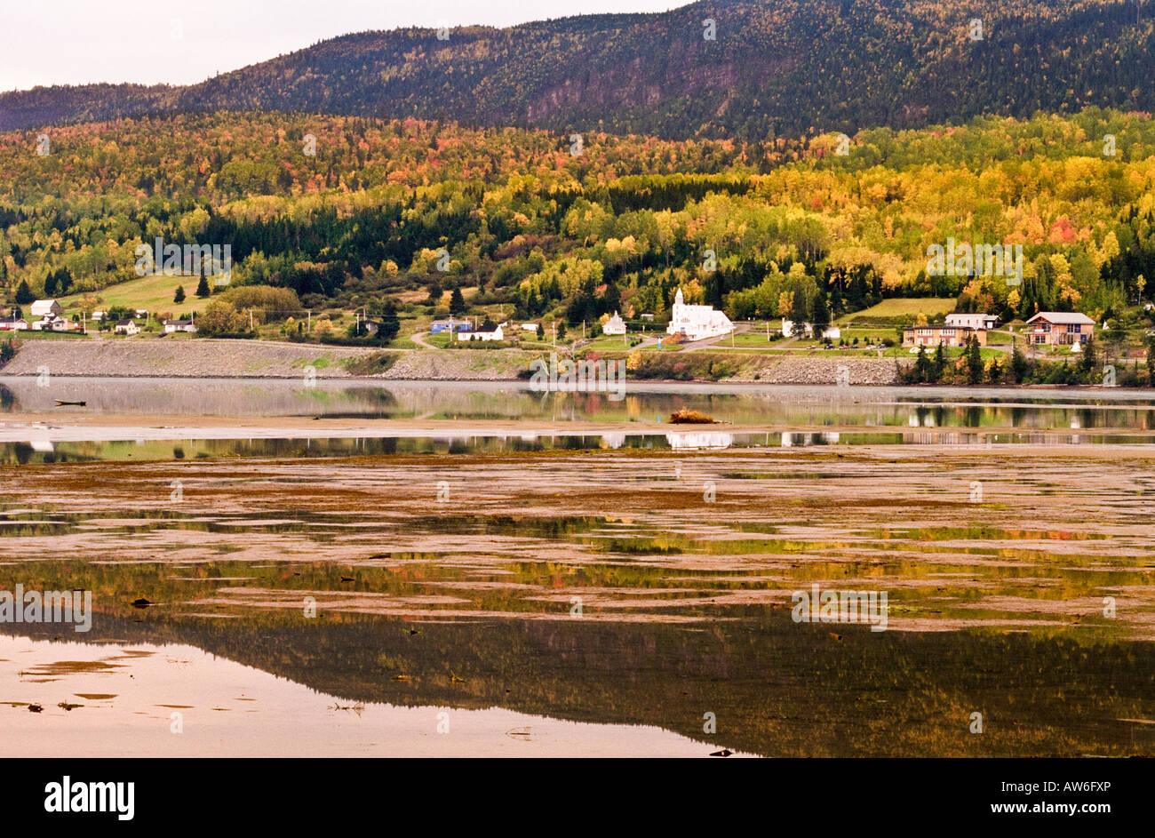 Pointe Navarre, Gaspe Peninsula, Quebec, Canada - Stock Image