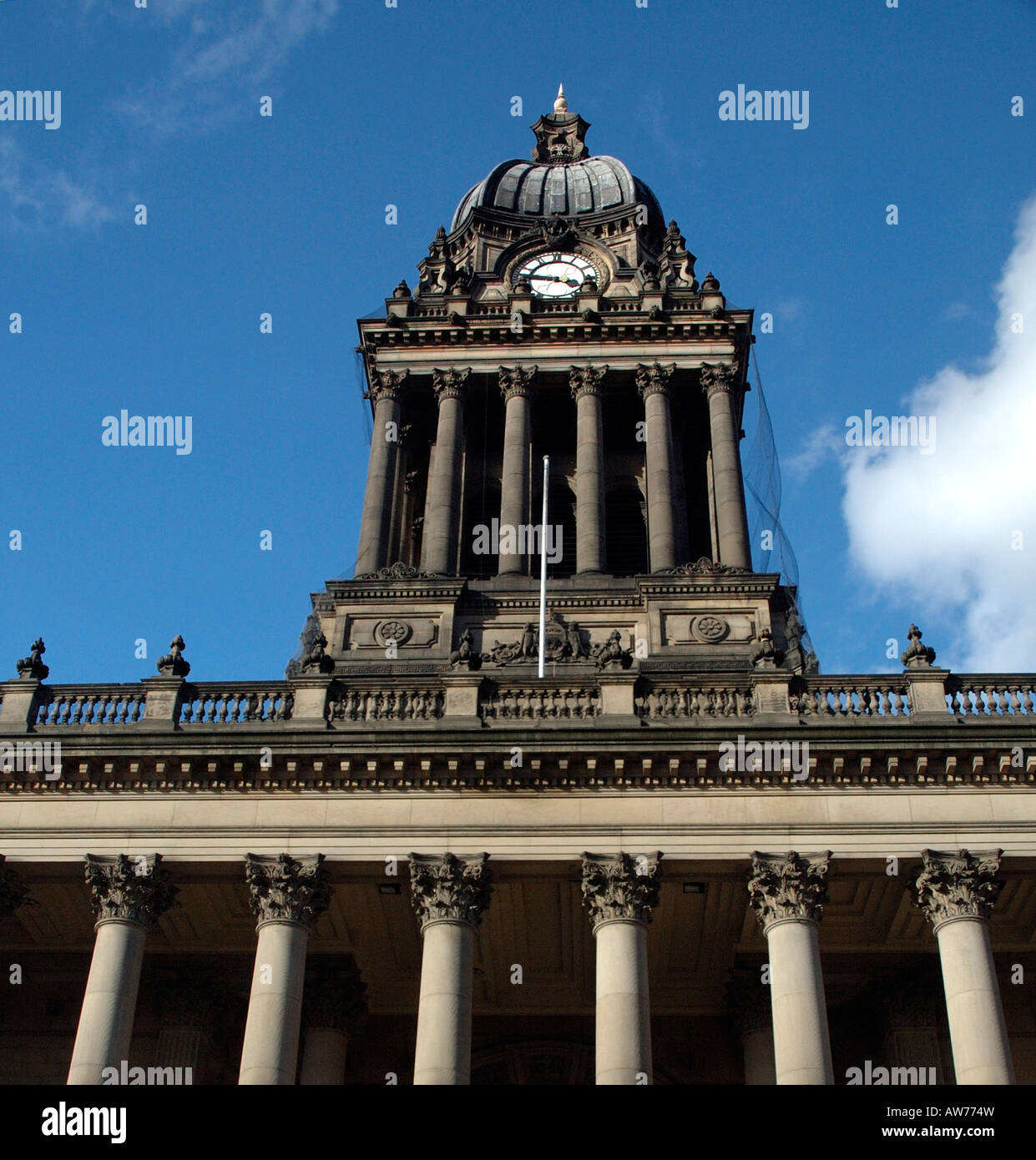 Leeds Town Hall - Stock Image