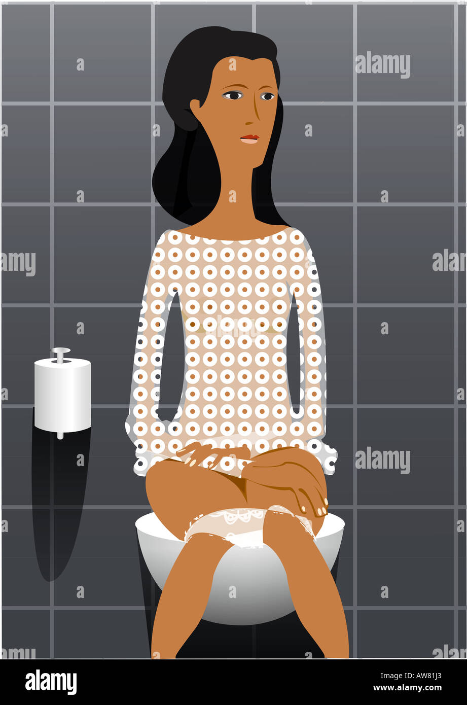 Well understand girl sitting on toilet peeing criticism advise