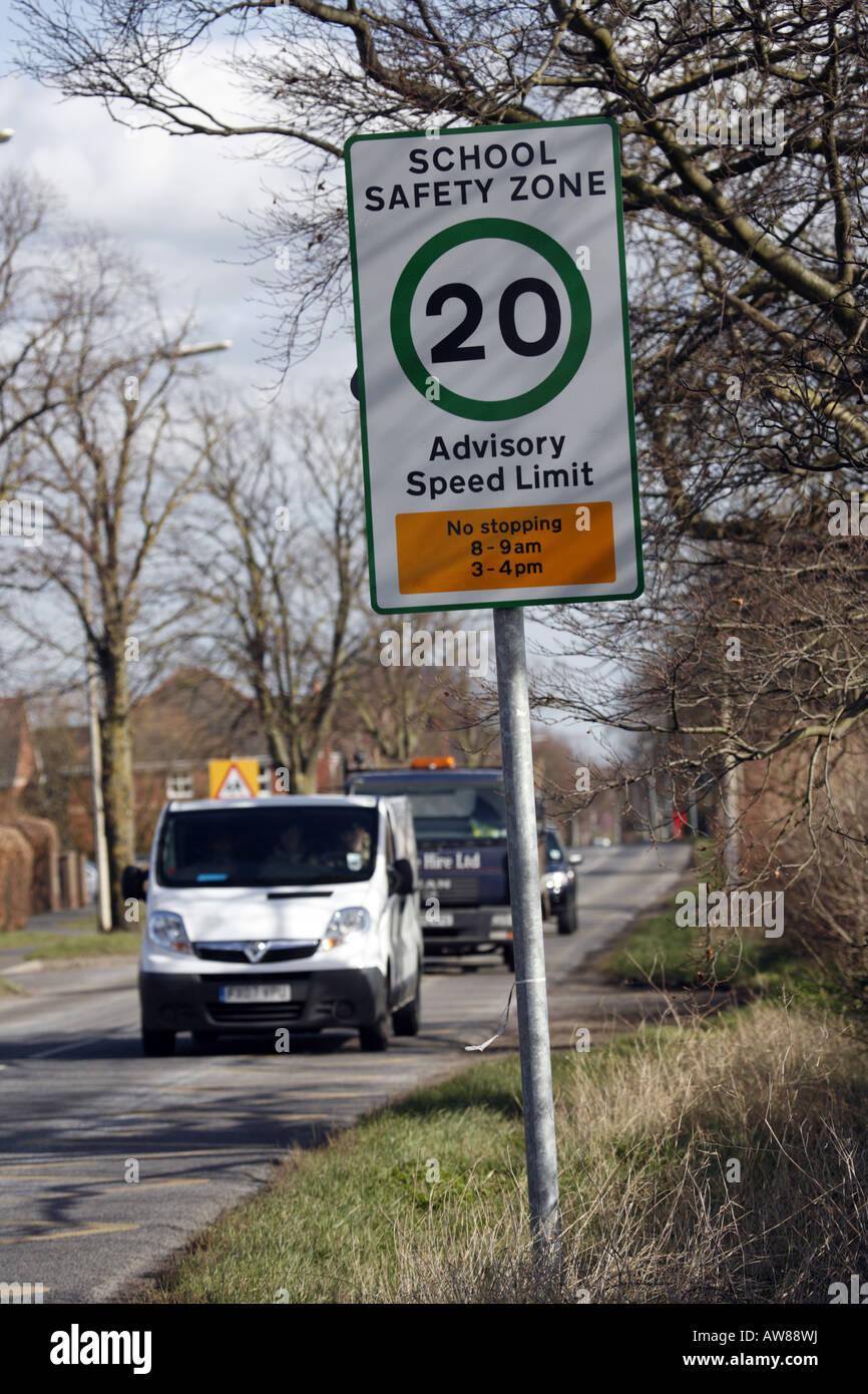uk van speed limit sign