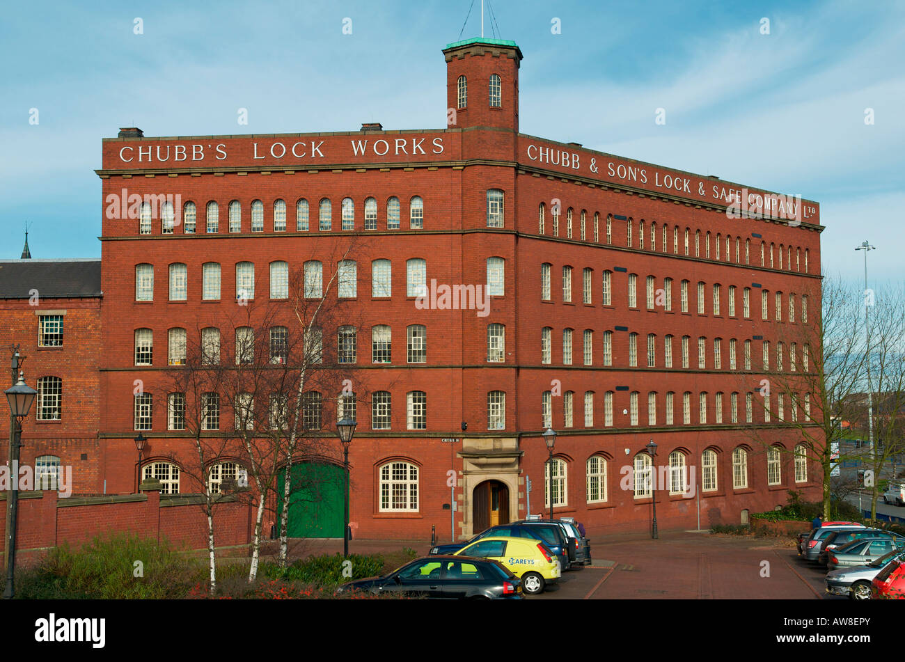 Chubb Building or Lighthouse Media Centre Wolverhampton - Stock Image