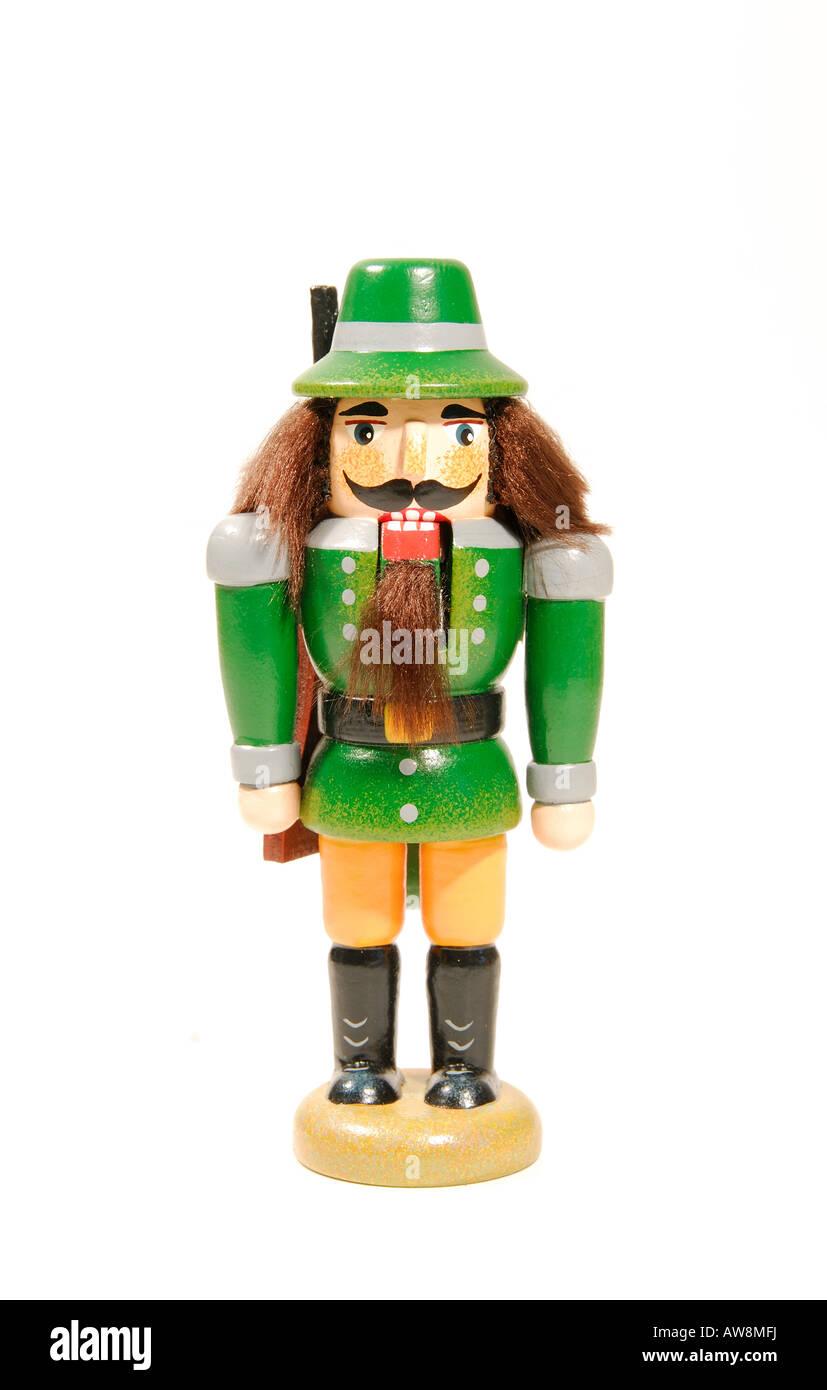 German nutcracker Christmas ornament Stock Photo: 16502261 - Alamy