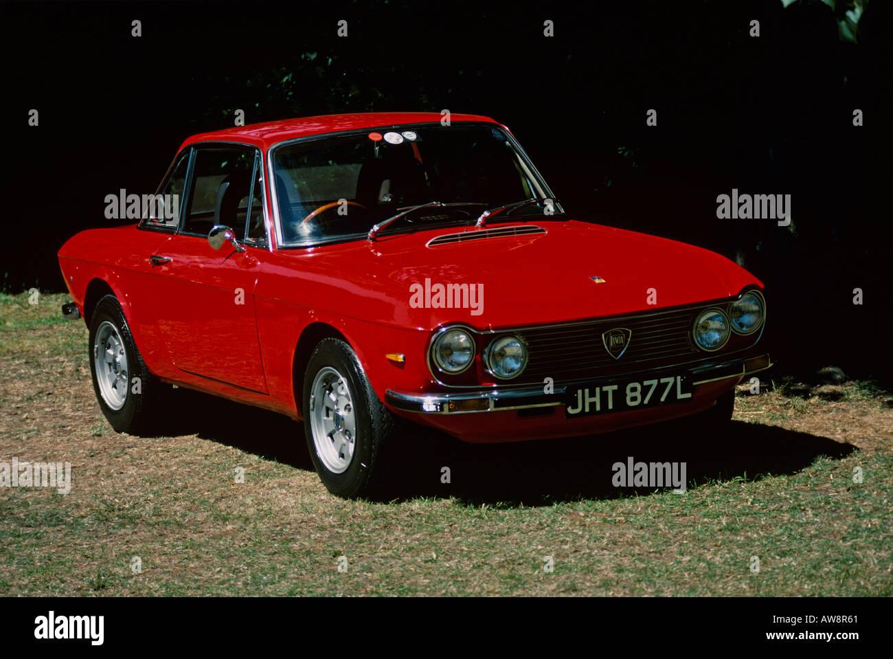 Lancia Fulvia Coupe - Stock Image