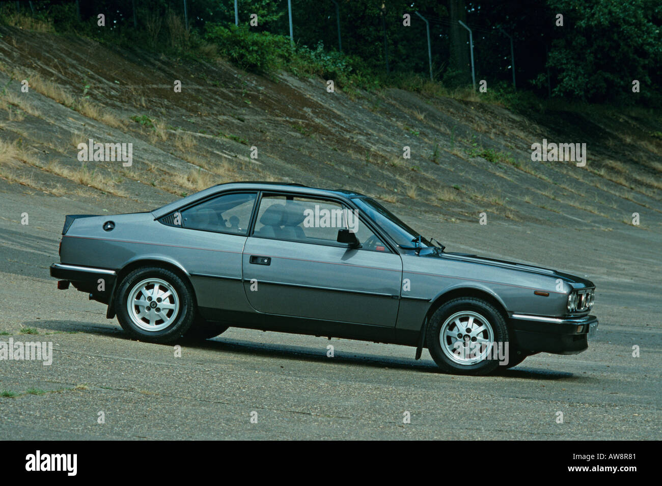 Lancia Beta Coupe 1974 to 1984 - Stock Image