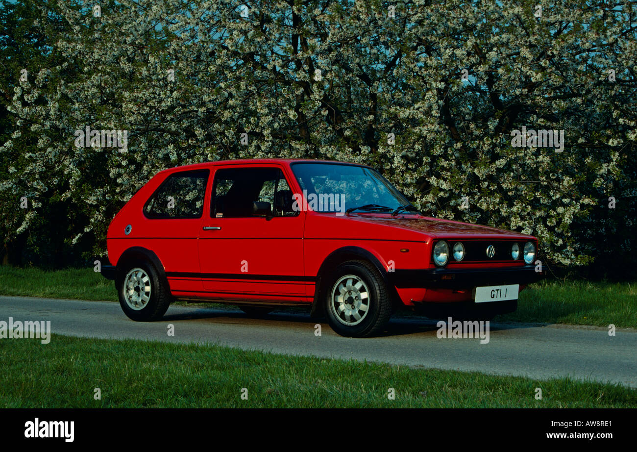 vw golf gti mk1 stock photos vw golf gti mk1 stock. Black Bedroom Furniture Sets. Home Design Ideas