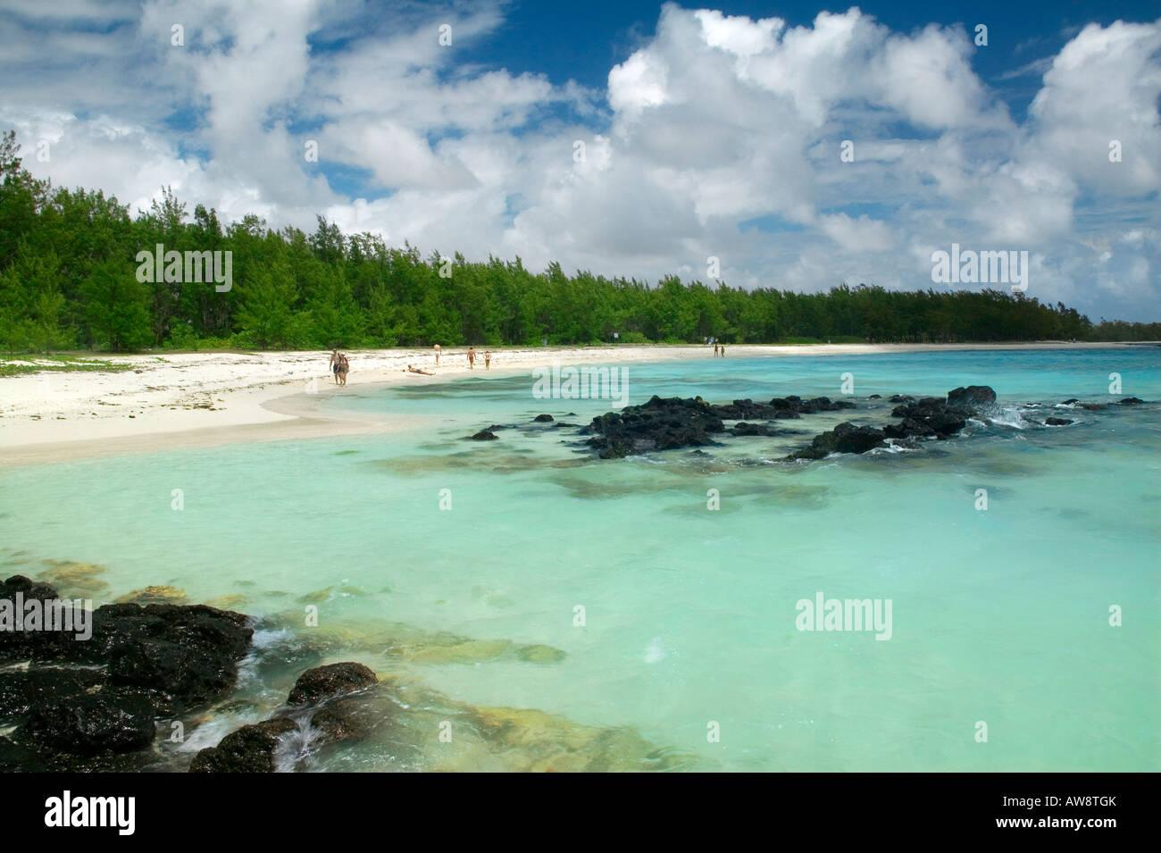 CERFS ISLAND - MAURITIUS - Stock Image
