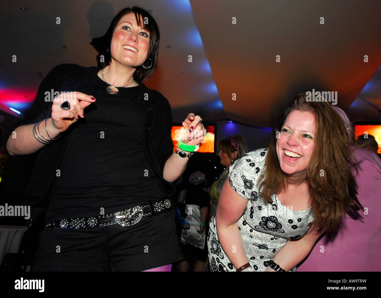 Girls night out, Hounslow, Middlesex, UK. - Stock Image