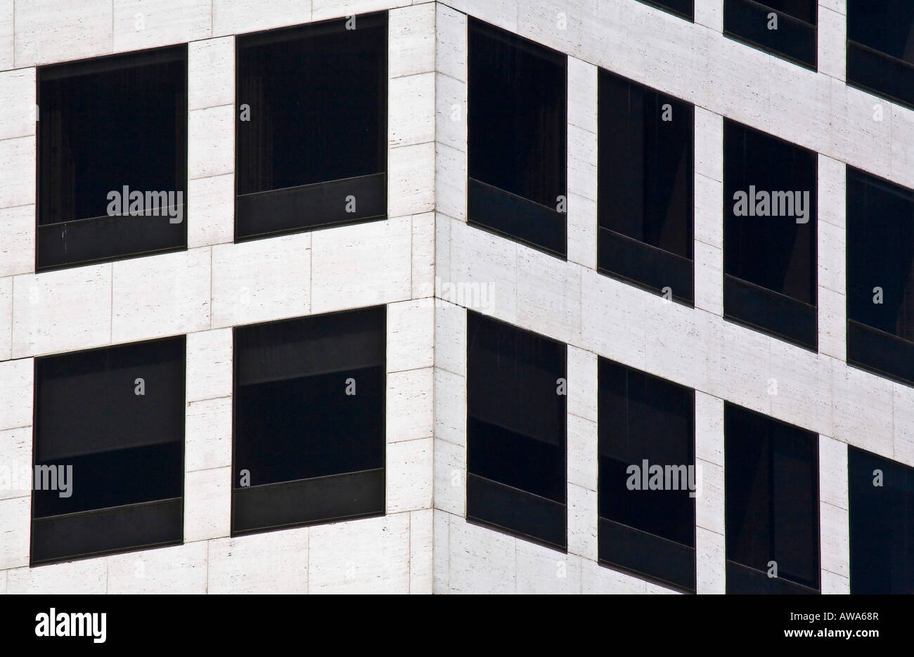 Office building in Milwaukee WI - Stock Image