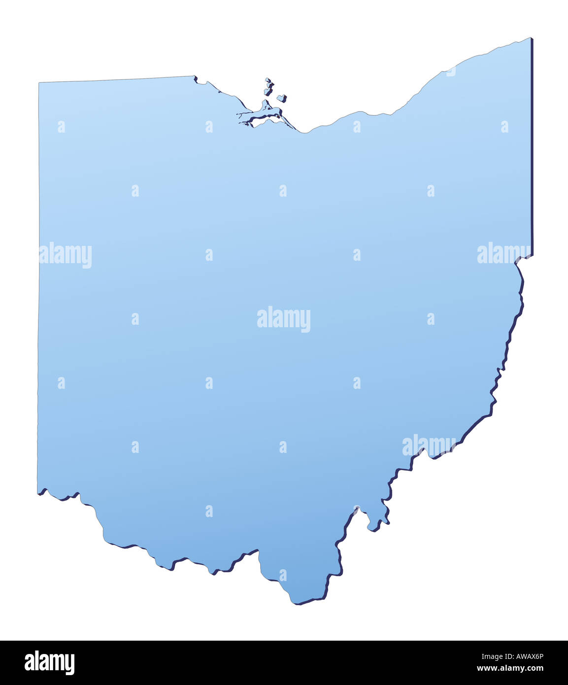 Ohio Map Stock Photos Ohio Map Stock Images Alamy