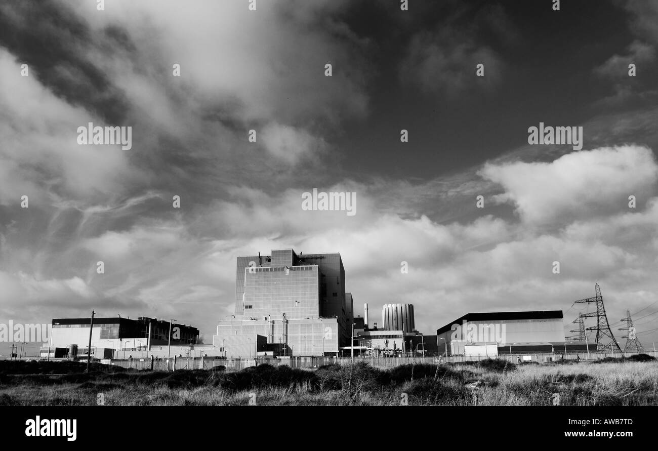Nuclear Power Station Dungeness Kent 30th October 2006 - Stock Image