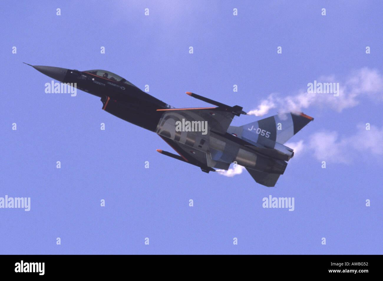 F-16AM Fighting Falcon Stock Photo