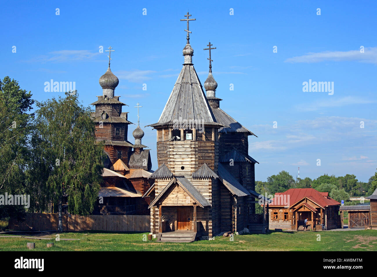Suzdal - Museum of Wooden Architecture or the Ghost of the Dmitrievsky Pechora Monastery 52
