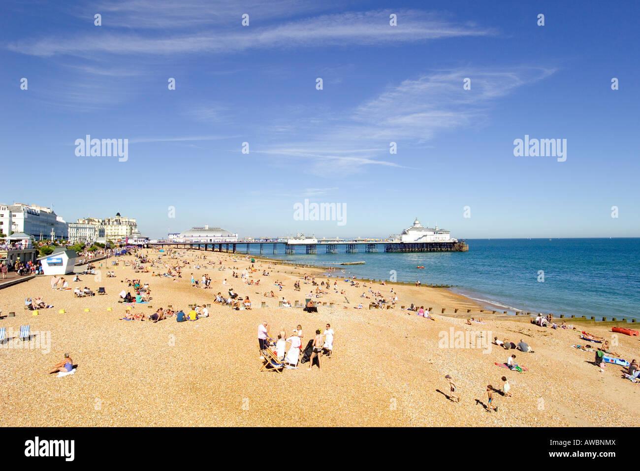 Typical British Summer Holiday Scene Stock Photos