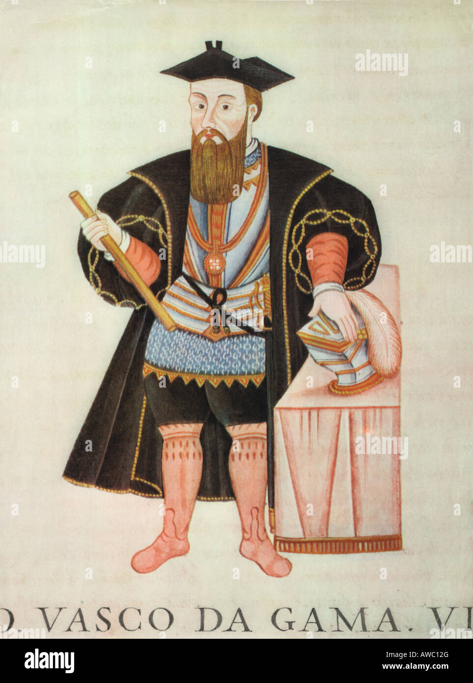 Vasco da Gama 1469 1524 a Portuguese navigator. - Stock Image