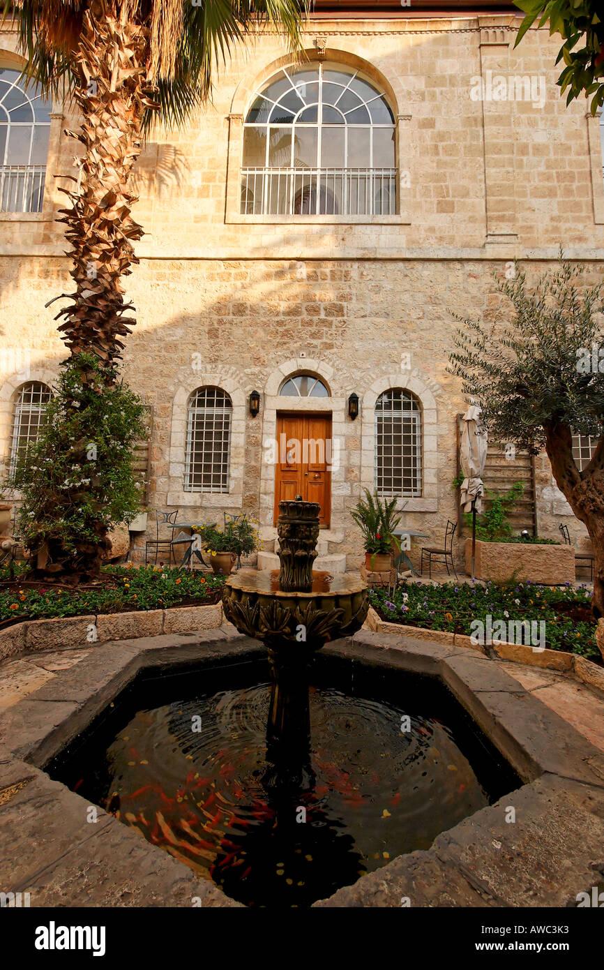 Israel Jerusalem Eest Jerusalem the American Colony hotel - Stock Image
