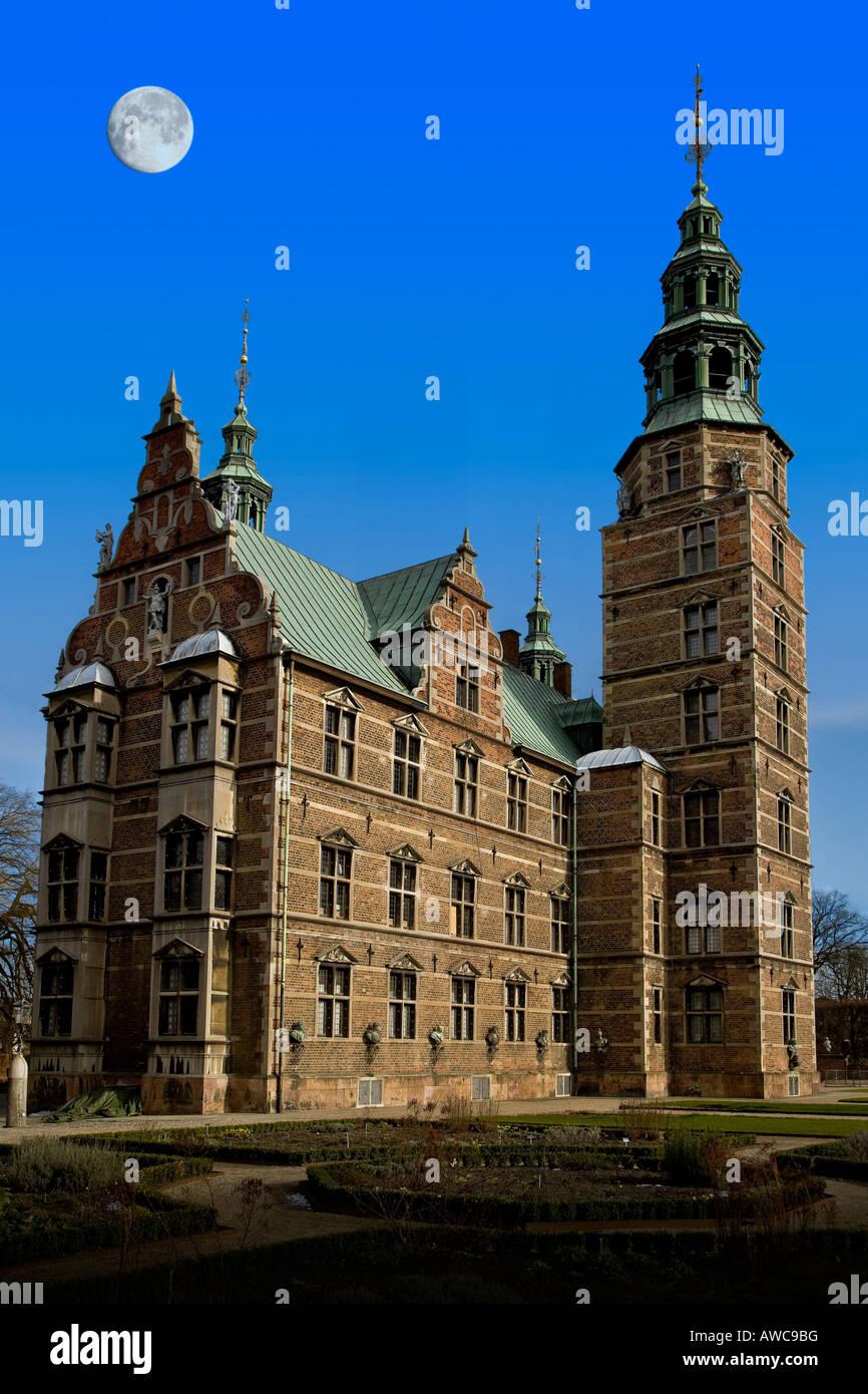 Rosenborg castle - Stock Image