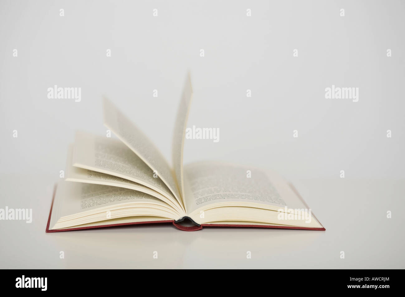 Opened book - Stock Image