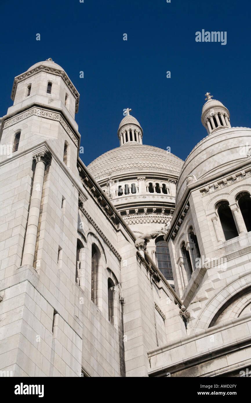 Basilique du Sacré Coeur de Montmartre, Paris, France, Europe Stock Photo