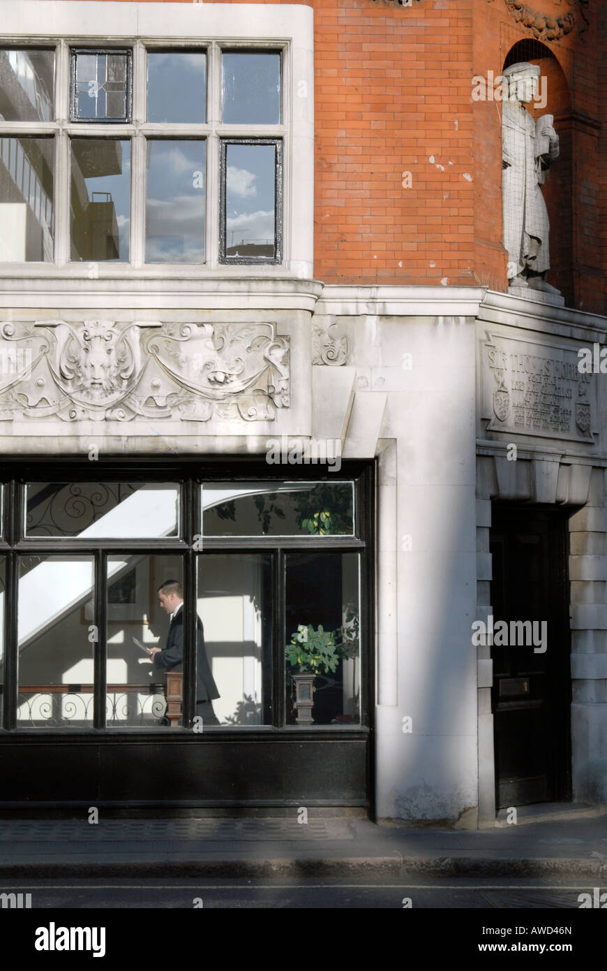 UK Thomas Moore law offices at Lincolns Inn London Photo Julio Etchart - Stock Image