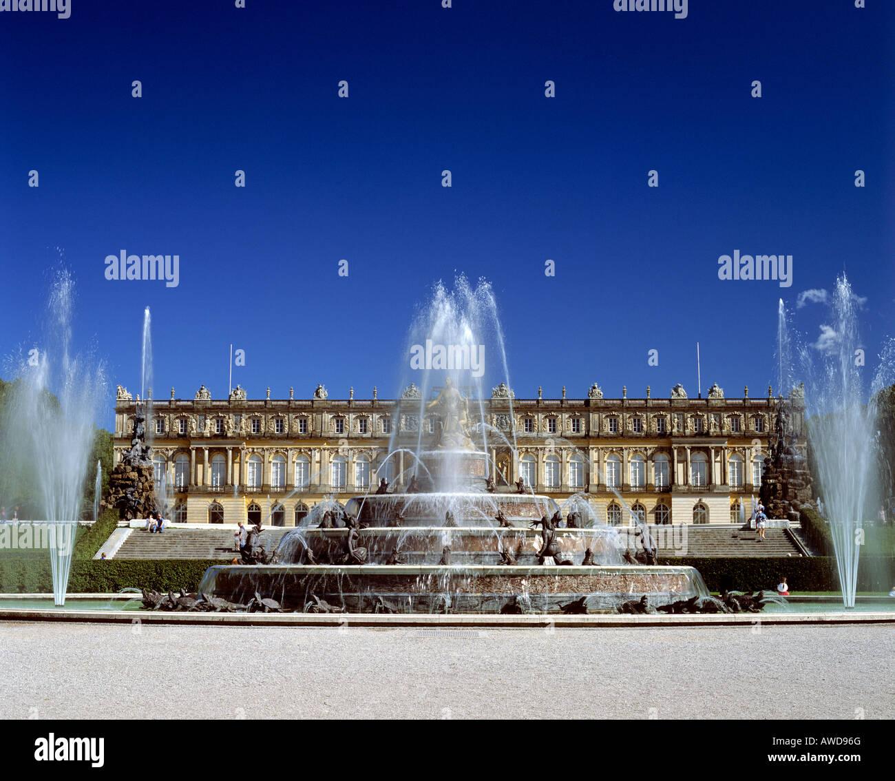 Orientalischer Garten Marzahn: Deutschland Garten Brunnen Springbrunnen Stock Photos